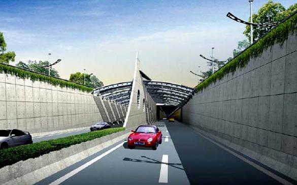 上海上中路隧道